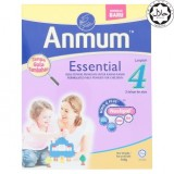 Anmum Essential Step 4 Plain Formulated Milk Powder For Children 3 Years And Above 500g