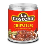 La Costena Chipotle Peppers in Adobo Sauce in Can 220g - Mexico