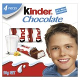 Kinder Chocolate 4 pieces 50g - Italy