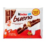 Kinder Bueno 6 pieces Flowpack ( 1 box ) 11 x 129g - Italy