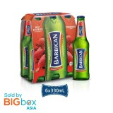 Barbican Strawberry Glass Bottle 330ml x 6 [MULTIPACK 6's]