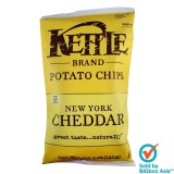 Kettle Potato Chips 142g - New York Cheddar with Herbs