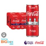 Coca-Cola Can 24 x 320ml - Limited Edition EPL 2019