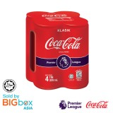 Coca-Cola Can 4 x 320ml - Limited Edition EPL 2019